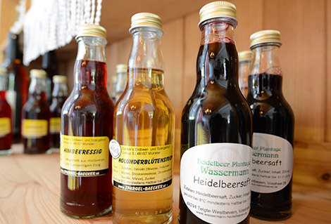 Große Auswahl an regionalen Produkten auf dem Hof Wassermann in Telgte bei Münster