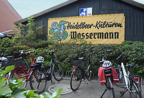 Heidelbeeren Wassermann Saison 2018